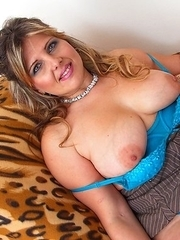 Hot and steamy mom fooling around in POV style