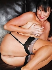 Horny housewife playing all by herself
