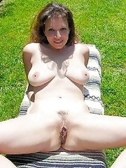 shaved pussy Mature cuties