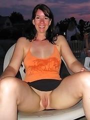 Real amateur women posing nude