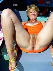 Forbidden photos and videos of real mature GFs