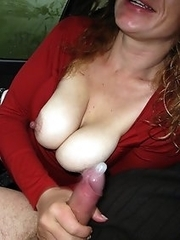 Hot wives and sexual hungry women exposes slits and boobs