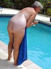 Real mature pussies and tits of real mature girlfriends