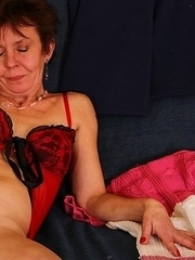 mature woman playing with hot toy