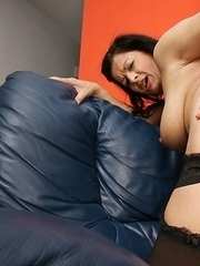 Naughty mature slut getting wet and warm