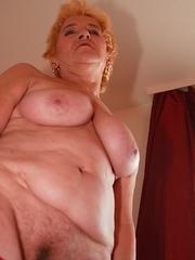 Naughty mature lady playing all alone