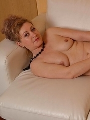 Horny housewife playing with her wet pussy