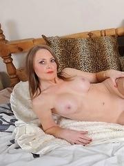 tight milf enjoying herself