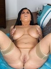 huge boobies on this hot mature slut
